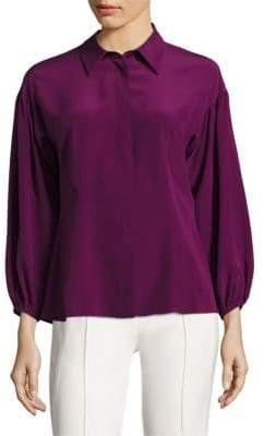 Escada Silk Drop Shoulder Blouse