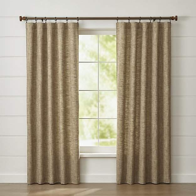 Reid Butterscotch Curtain Panel