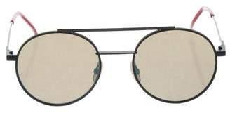 Fendi Round Tinted Sunglasses w/ Tags