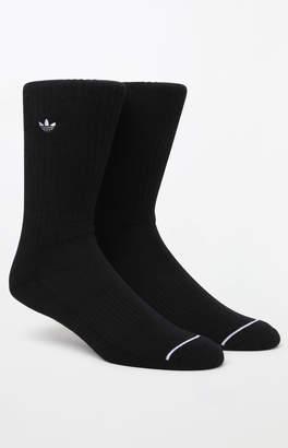 adidas Iconic Patch Black Crew Socks