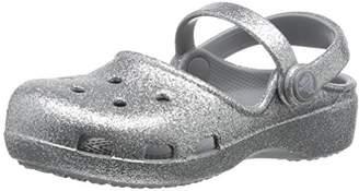 Crocs (クロックス) - [クロックス] サンダル カリン スパークル クロッグ キッズ 202884 silver C11(18 cm)
