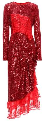 Preen by Thornton Bregazzi Mae sequinned dress