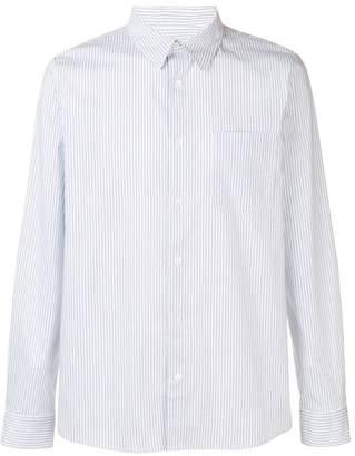 A.P.C. striped print shirt