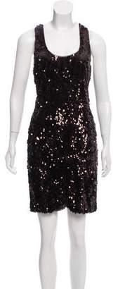 Vince Sleeveless Embellished Dress