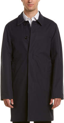 Turnbull & Asser Reversible Wool Trench Coat