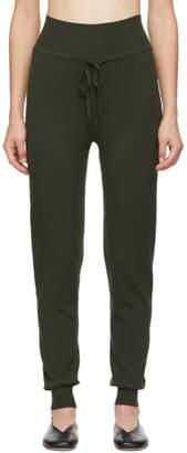 Live the Process Green Knit High Waist Lounge Pants