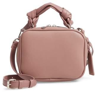 Sole Society Douga Faux Leather Crossbody Camera Bag