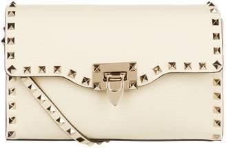 Valentino Small Leather Rockstud Shoulder Bag