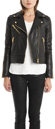 Rag and Bone Rag & Bone Bowery Convertible Leather Jacket