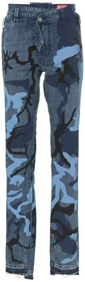 Diesel Red Tag camo print jeans
