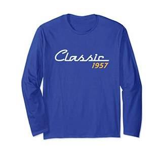 Vintage Classic 1957 61st Birthday Long Sleeve T-Shirt