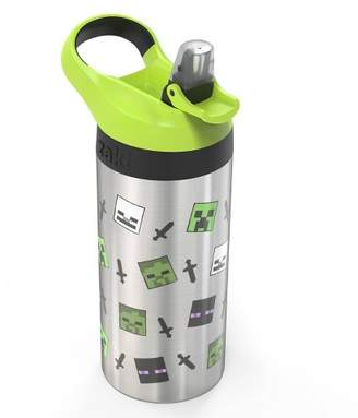 Zak Designs Minecraft 19oz Stainless Steel Water Bottle