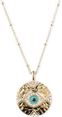 lonna & lilly Gold-Tone Evil Eye Pendant Necklace