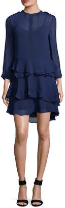Allison Collection Ruffled Tiered Dress
