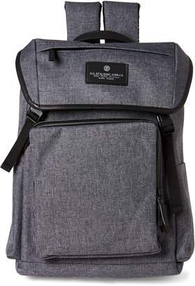 AG Jeans Spalding & Bros. Grey Brooklyn Flap Backpack