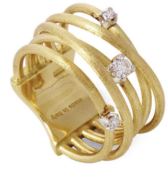 Marco Bicego Luce 18K Yellow Gold 0.16 Ct. Tw. Diamond Ring