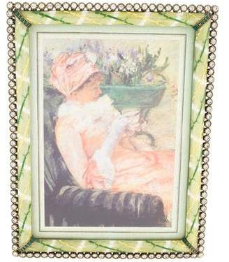 Jay Strongwater Lucas Stone Edge Picture Frame