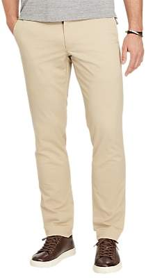 Ralph Lauren Polo Hudson Slim Fit Stretch Cotton Trousers, Classic Khaki