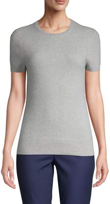 Saks Fifth Avenue Cashmere Short-Sleeve Cashmere Sweater