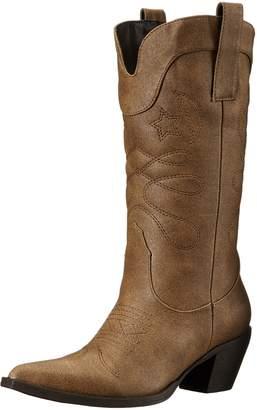 AdTec Women's 14 Inch Western Pull On Work Boot