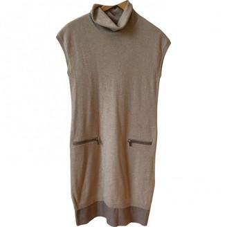 Fabiana Filippi Beige Wool Dresses