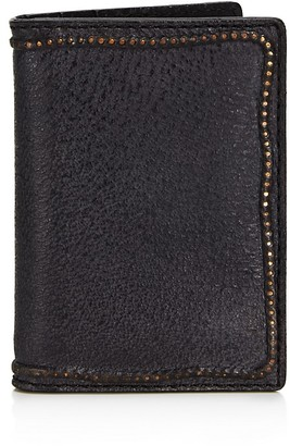 John Varvatos Star USA Studded Edge Card Case $78 thestylecure.com