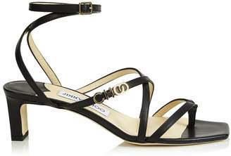 Jimmy Choo Jas 50 Leather Sandals
