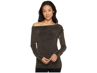 Karen Kane Knit Off the Shoulder Top Women's Clothing