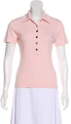 Tory Burch Cotton Polo Top