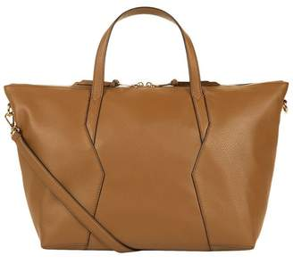 Sandro Leather Tote Bag