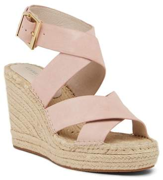 Kenneth Cole New York Oda Suede Espadrille Wedge Sandal
