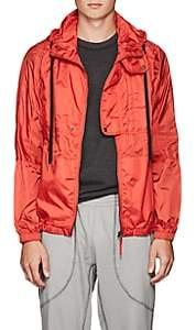 Tomas Maier MEN'S TECH-POPLIN HOODED JACKET-RED SIZE XL
