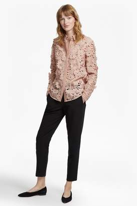 French Connection Manzoni Sparkle Lace Shirt