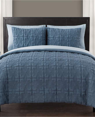 Vcny Home Iron Gate 5-Pc. Quilted Twin Bed-in-a-Bag Set Bedding