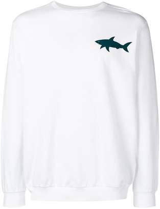 Paul & Shark shark print sweatshirt