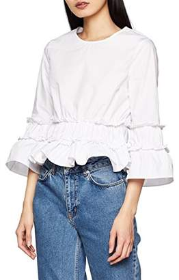 ENGLISH FACTORY Women's Kathy T-Shirt,(Manufacturer Size: L)