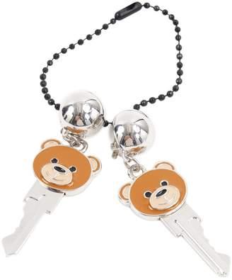 Moschino Brown Metal Earrings