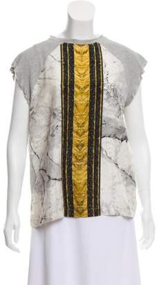 Josh Goot Silk Sleeveless Top