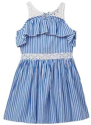 Truly Me Sleeveless Fit & Flare Dress (Big Girls)
