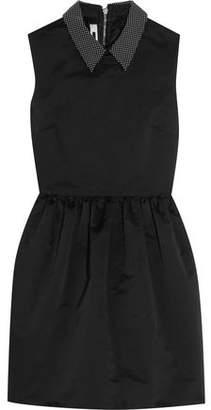 McQ Studded Satin Mini Dress