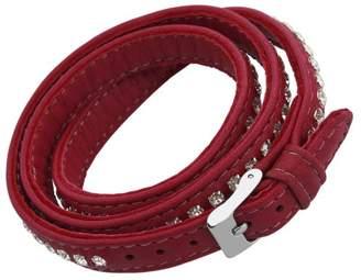 Burgmeister Jewelry Women's Bracelet Stainless Steel Leather 56 CM JBM 4036–778