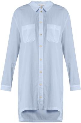HEIDI KLEIN St Barth step-hem cotton shirtdress $145 thestylecure.com