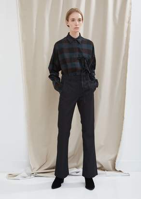 MM6 MAISON MARGIELA Flared Twill Trousers