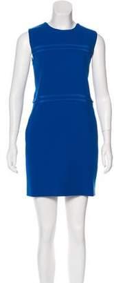 Victoria Beckham Victoria, Wool Silk-Trimmed Dress