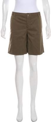 Joie Mid-Rise Knee-Length Shorts