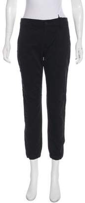 Vince Cropped-Mid-Rise Skinny Joggers