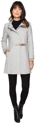 Lauren Ralph Lauren Basket Weave Novelty Women's Coat