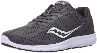 Saucony Women's Ideal Running Shoes, Black/Grey/Print