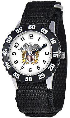 Disney Kids Time Teacher Nylon Navy Watch