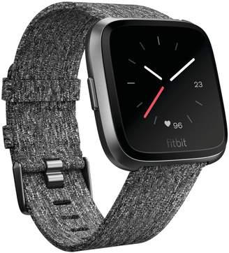 Fitbit Versa Multi-Function Woven Strap Smartwatch